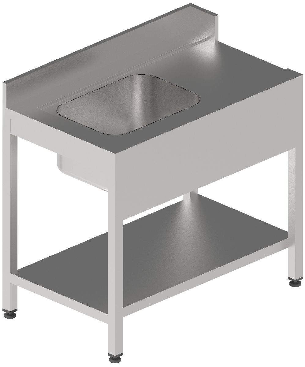 Pre-washing Table with Basin