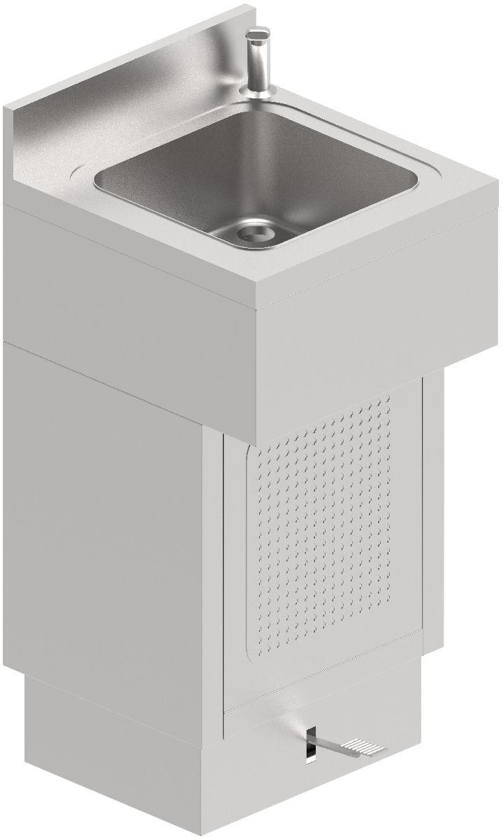 Lava Mãos, Opção com Cilindro
