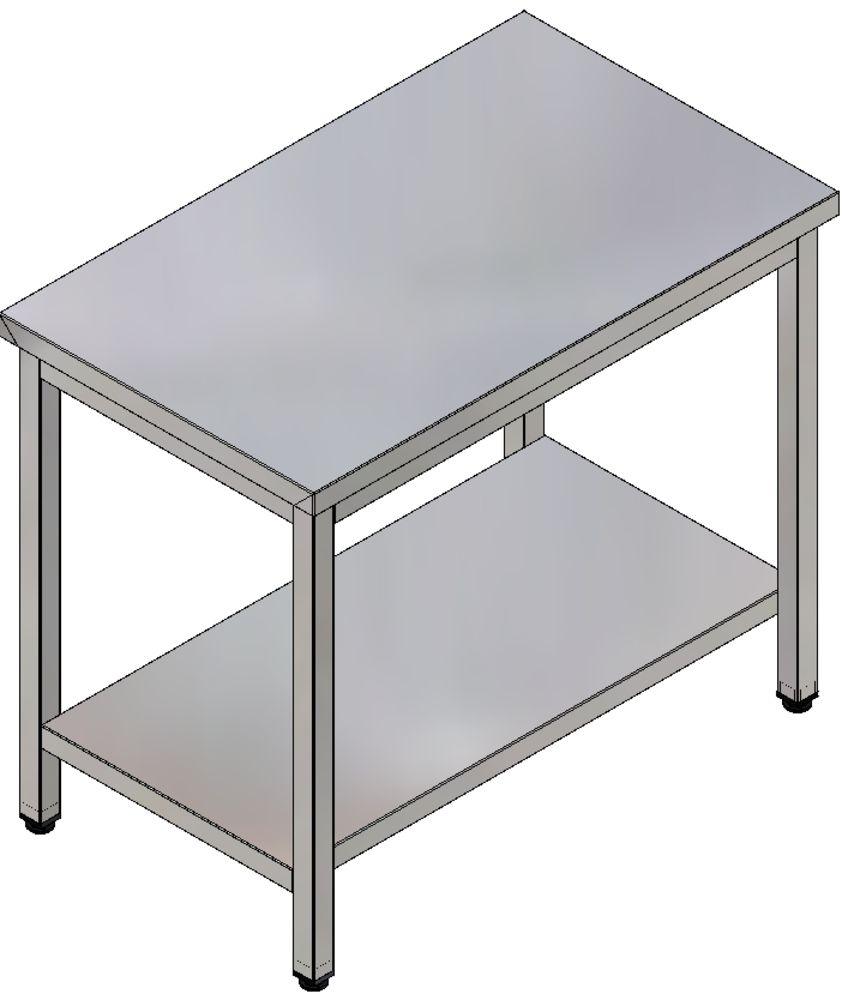 Mesas - 1 Prateleira