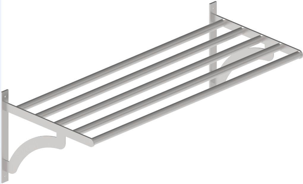 Tubolar Wall Shelf